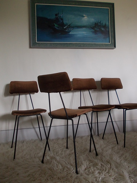 Retrofunk 60s Dining Chairs For Sale