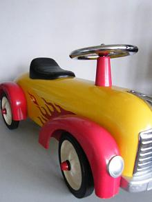 Hotrod Ride-On Car