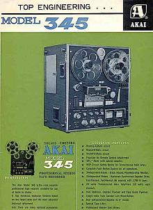 AKAI 345 Reel to Reel Player