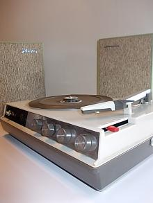 Portable STELLA Stereo Record Player