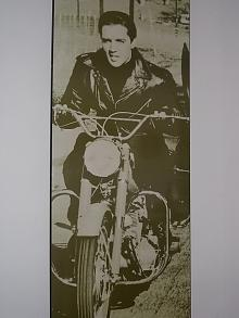 Very Large Elvis on a Motorcycle