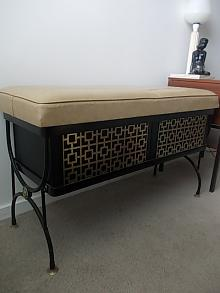 1960s Decorative Storage Seat