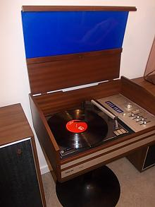 Phillips Radiogram and AWA Speakers