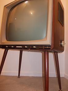 1960s Black and White TV