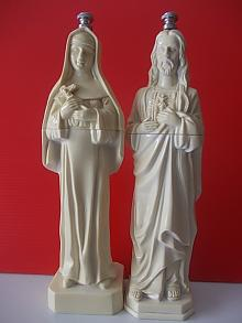 Jesus and Mary Salt & Pepper Grinders