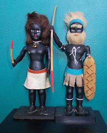 Collectable Aboriginal Couple